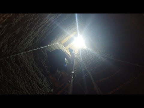 Very Rare Video Of Filming Inside The Osiris Shaft At Giza In Egypt