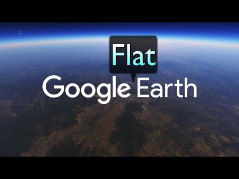 Google Earth Measures Flat