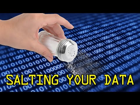 Salting Your Data – #SolutionsWatch