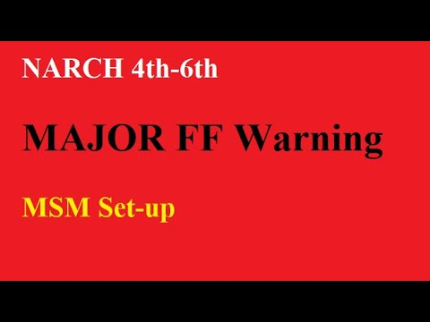 FF March 4th – MSM BEWARE