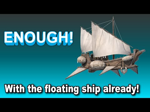 Floating ships over a FLAT EARTH