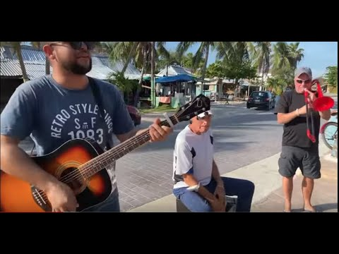 Live music by Sonny and his band in Puerto Morelos