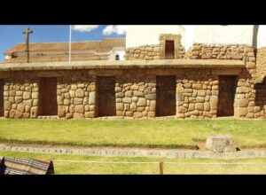 Ancient Living Traditions And Inca/Megalithic Structures At Chinchero In Peru