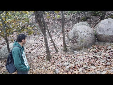 Mysterious Giant Stone Spheres Near Guadalajara In Mexico