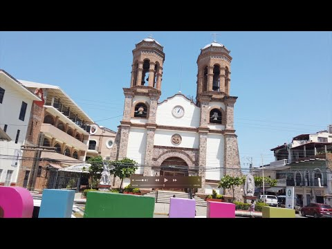 Visiting A Small Traditional Town Near Puerto Vallarta In Mexico