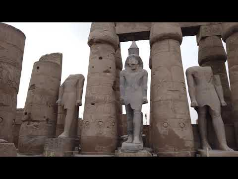 Exploring Megalithic Luxor In Egypt