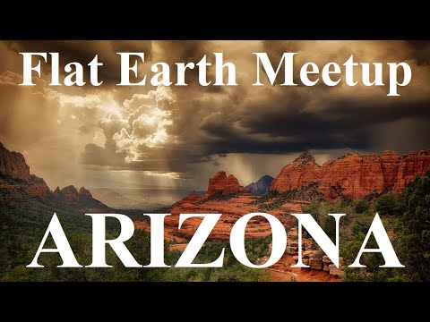 Flat Earth meetup Phoenix Arizona April 25 with Nathan Thompson ✅