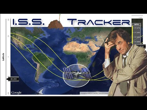 13.  ISS Trackers Aren't Exactly Tracking Anything…