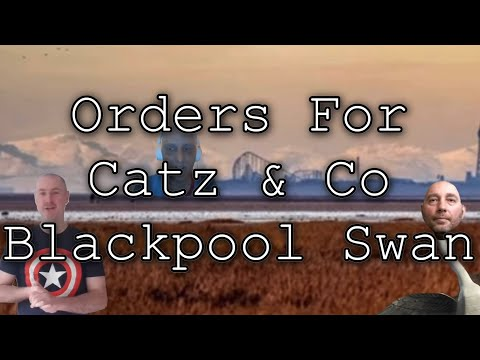 Tasks For Catz FOUR OBSERVER HEIGHTS?!! Blackpool Swan Straw Man #ThanksCatz