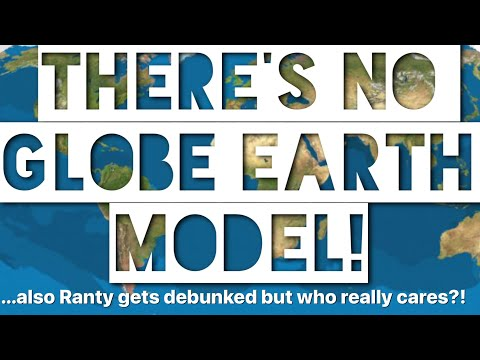 Where's YOUR Globe Model? Ranty Flat Earth Globe Conversion Debunked #ThanksCatz