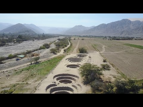 Quadcopter Exploration Of Several Ancient Sites In Peru