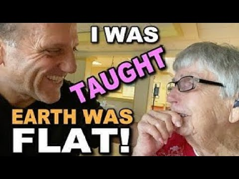 102 Year old Ruth was taught the Earth was FLAT!