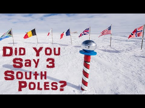 16. The South Pole is Fake… All 3 of them.