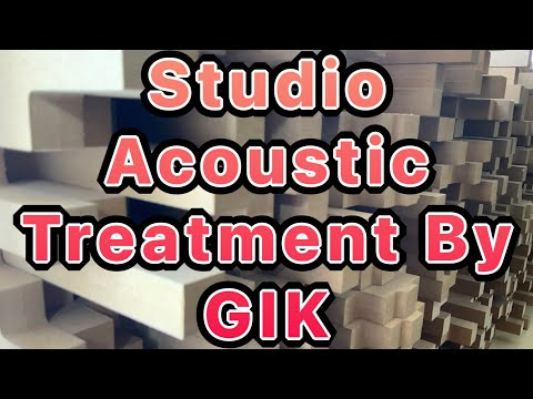Without Acoustic Treatment Demonstration  – Studio Almost Finished With GIK Bass Traps
