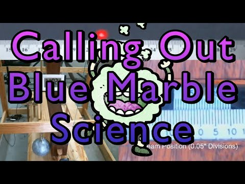 Gas Law Vs Fake Space & Blue Marble Cavendish Psudoscience
