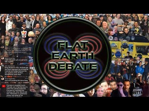 Brand New Flat Earth Debate 1418 Uncut & After Show