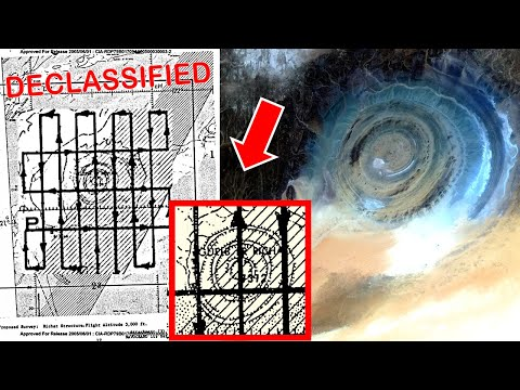 Secret Files on The Eye of The Sahara & The Lost Ancient City of Atlantis | Richat Structure Africa