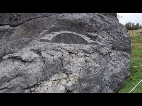 """Megalithic Site Of The """"Stones Of The Moon"""" Near Cusco Peru"""