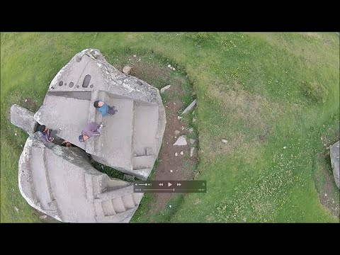 Quadcopter Exploration Of An Ancient Megalithic Site In Peru Called Saihuite