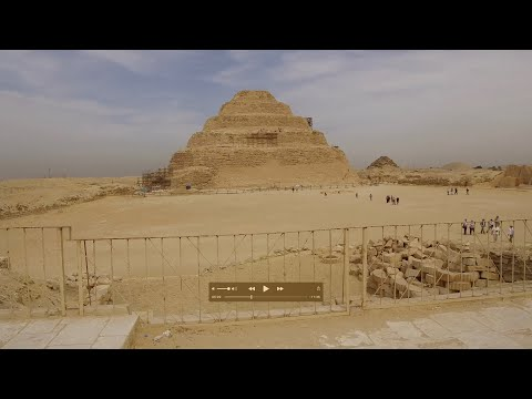 The Massive Ancient Archeological Complex Of Saqqara In Egypt