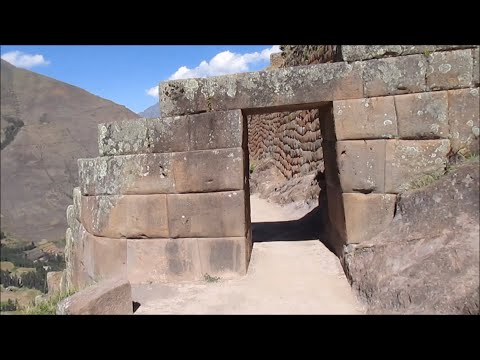 Ancient Site Of Pisaq In The Highlands Of Peru