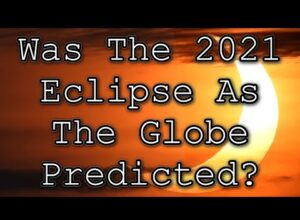 Was The 2021 Eclipse As Predicted On A Globe?