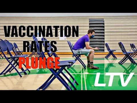 Vaccination Rates PLUNGE – Are Americans Waking Up?
