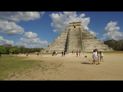 A Journey Through The Vast Mayan Complex Of Chichen Itza In Mexico