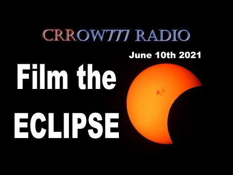Film the ECLIPSE on a Flat Earth