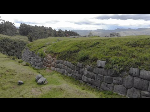 Quadcopter Exploration Of Ancient Stone Monuments Of Qenqo And Cochaspata In Peru