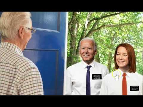 """""""Ignore No Soliciting Signs, Use Your Script"""": Biden's Door-Knocking Documents Revealed"""