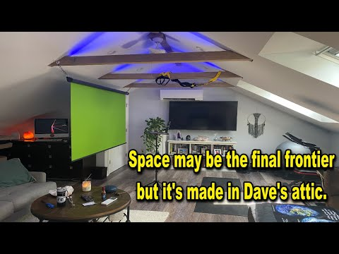 Space may be the final frontier but its made in Daves attic – Flat Earth