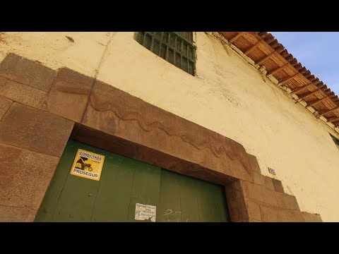 A Walk Through The Streets Of Ancient Cusco In Peru