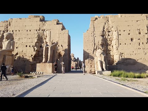 Comparison Of Dynastic Egyptian Stonework With Much Older Megalithic At Karnak In Egypt