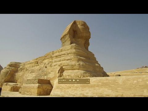 Exploring In And Around The Great Sphinx Enclosure In Egypt