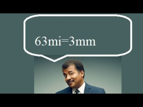 63 Miles=3mm? Flat Earth Wednesday