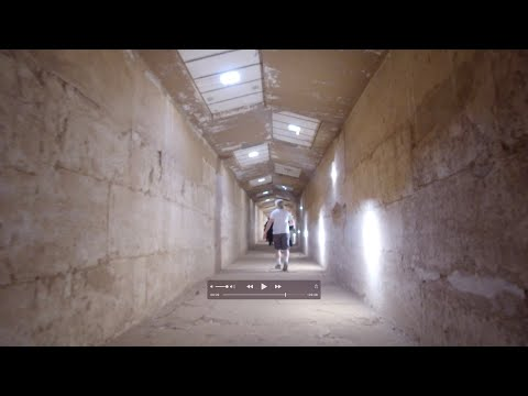 Rare Exploration Of The Underground Megalithic Osirion Complex At Abydos In Egypt