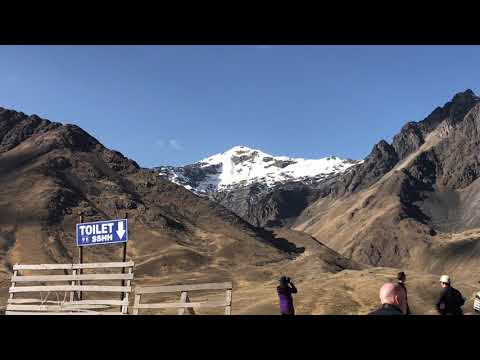 High pass in the Andes of Peru