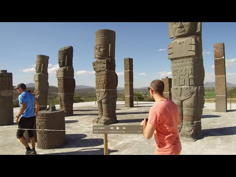 The Megalithic Atlantean Warrior Statues Of Tula In Mexico