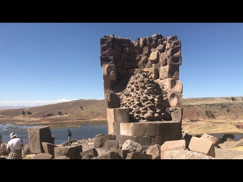 Ancient Megalithic Chullpa Towers At Sillustani In Peru With Jimmy Of Bright Insight Youtube Channel