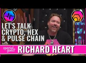 Talking HEX & PULSE with Richard Heart – Crypto Discussion LIVE
