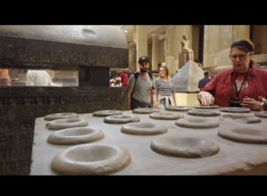 Evidence Of Ancient Machining Technology In The Cairo Museum In Egypt