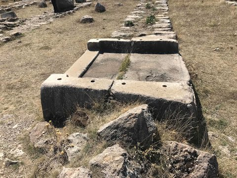 Evidence Of Ancient Advanced Machining At Hattusa In Turkey