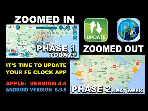 Flat Earth Friend Finder UPDATE!  Apple 4.5 and later today 4.6