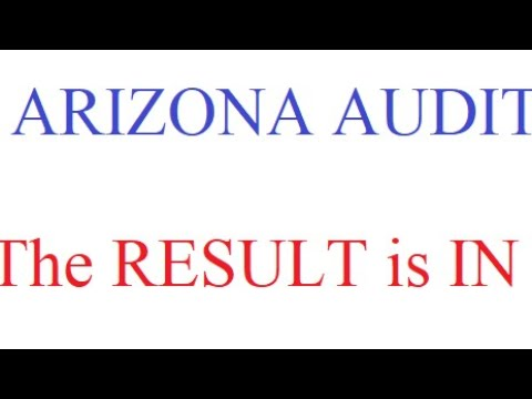 AZ Audit – And the Result is….