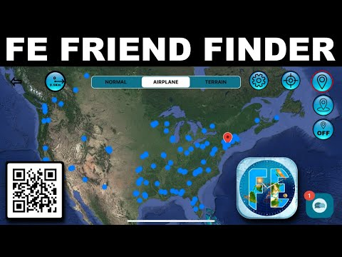 The day is here!  The Flat Earth Friend Finder.