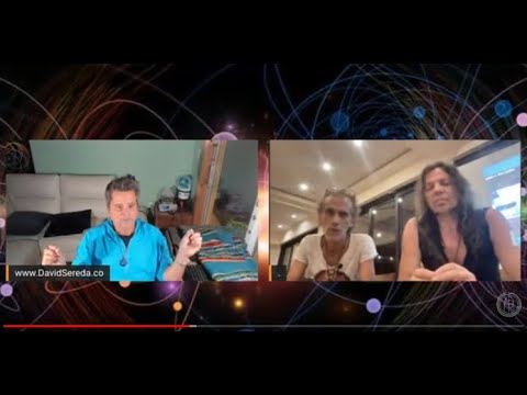 'Traveling the cosmos' with Sacha Stone and David Sereda: see message below