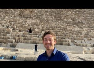 Live from the Great Pyramid of Giza!