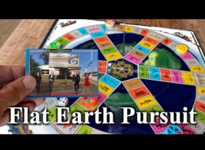 Flat Earth Pursuit is not trivial – join the fun and play along! ✅