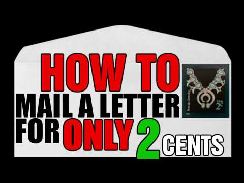 How To Mail A Letter or Postcard for Only 2 Cents [ARCHIVE]